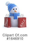 Snowman Clipart #1646910 by Steve Young