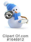 Snowman Clipart #1646912 by Steve Young