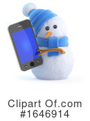 Snowman Clipart #1646914 by Steve Young
