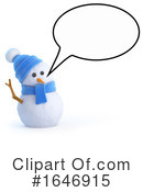 Snowman Clipart #1646915 by Steve Young