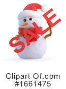 Snowman Clipart #1661475 by Steve Young