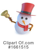 Snowman Clipart #1661515 by Steve Young