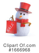 Snowman Clipart #1666968 by Steve Young