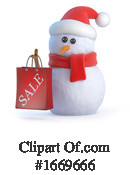 Snowman Clipart #1669666 by Steve Young