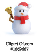 Snowman Clipart #1669667 by Steve Young