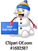 Snowman Clipart #1682587 by Morphart Creations