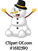 Snowman Clipart #1682590 by Morphart Creations