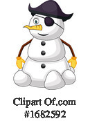 Snowman Clipart #1682592 by Morphart Creations