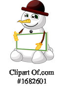 Snowman Clipart #1682601 by Morphart Creations