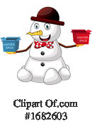 Snowman Clipart #1682603 by Morphart Creations