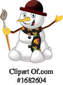 Snowman Clipart #1682604 by Morphart Creations