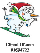 Snowman Clipart #1694723 by toonaday