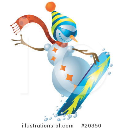 Snowboarding Clipart #20350 by Tonis Pan