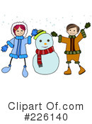 Snowman Clipart #226140 by BNP Design Studio