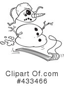 Snowman Clipart #433466 by toonaday