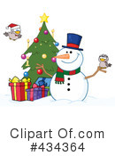 Snowman Clipart #434364 by Hit Toon