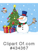 Snowman Clipart #434367 by Hit Toon