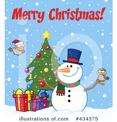 Snowman Clipart #434375 by Hit Toon