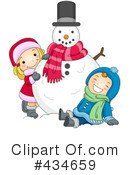Snowman Clipart #434659 by BNP Design Studio