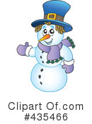 Snowman Clipart #435466 by visekart