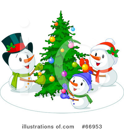 Christmas Tree Clipart #66953 by Pushkin