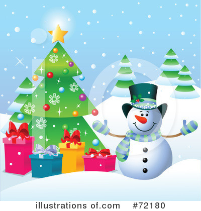 Christmas Tree Clipart #72180 by Pushkin
