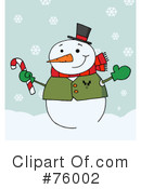 Snowman Clipart #76002 by Hit Toon