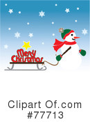 Snowman Clipart #77713 by Pams Clipart