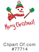 Snowman Clipart #77714 by Pams Clipart