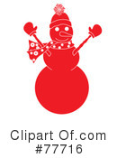 Snowman Clipart #77716 by Pams Clipart