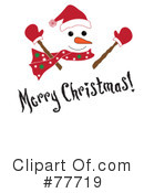 Snowman Clipart #77719 by Pams Clipart