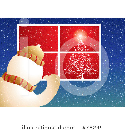 Christmas Tree Clipart #78269 by MilsiArt
