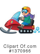 Snowmobile Clipart #1370966