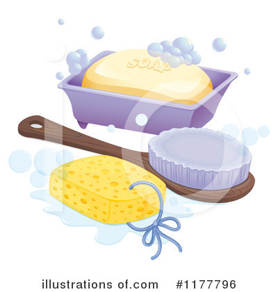 Bathing Clipart #1177796 by Graphics RF