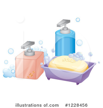 Royalty free rf soap clipart illustration by colematt stock sle