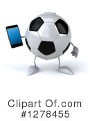 Soccer Ball Character Clipart #1278455 by Julos
