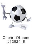 Soccer Ball Character Clipart #1282448 by Julos