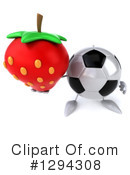 Soccer Ball Character Clipart #1294308 by Julos