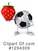 Soccer Ball Character Clipart #1294309 by Julos