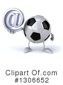 Soccer Ball Character Clipart #1306652 by Julos