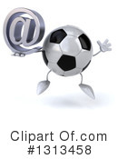 Soccer Ball Character Clipart #1313458 by Julos