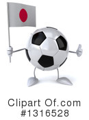 Soccer Ball Character Clipart #1316528 by Julos