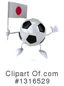 Soccer Ball Character Clipart #1316529 by Julos