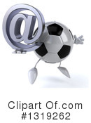 Soccer Ball Character Clipart #1319262 by Julos