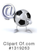 Soccer Ball Character Clipart #1319263 by Julos