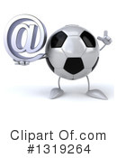 Soccer Ball Character Clipart #1319264 by Julos