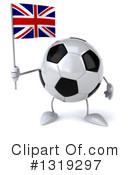 Soccer Ball Character Clipart #1319297