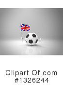 Soccer Ball Character Clipart #1326244
