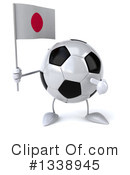 Soccer Ball Character Clipart #1338945 by Julos