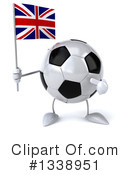 Soccer Ball Character Clipart #1338951